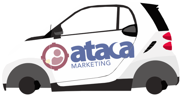 Coche comercial marketing